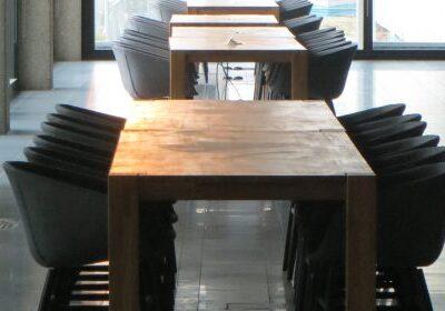 SOFTLINE MAYA met houten onderstel